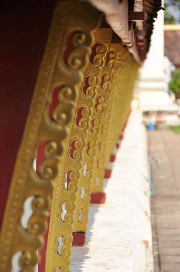 Détail au Pha That Luang Vientiane Laos