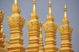 Détails du Chedi That Luang Vientiane Laos