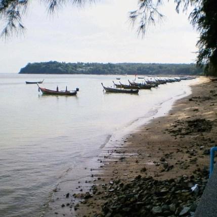 Plage de Rawai à Phuket, en 2006.