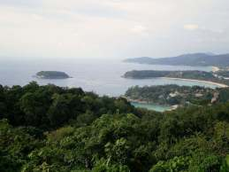 Point de vue sur Phuket, en 2006.