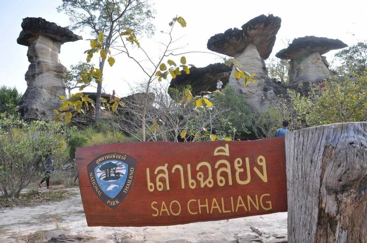 Sao Chaliang-Pha Taem National Park Ubon Ratchathani