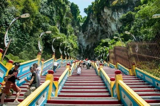 escalier grotte batu
