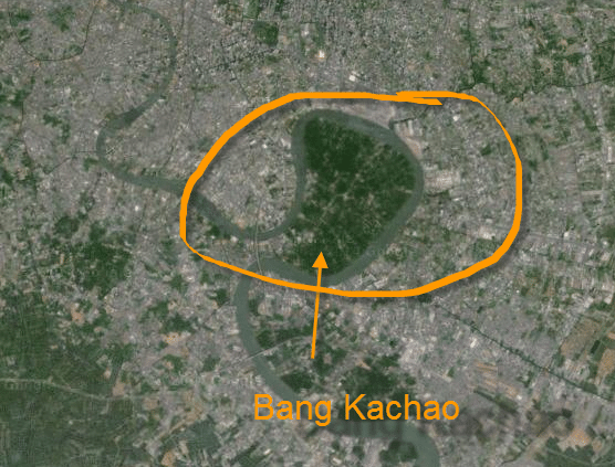 Bang Kachao map