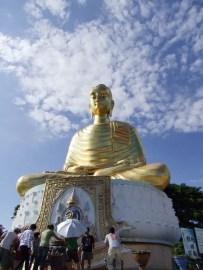 bouddha dorée ban krut