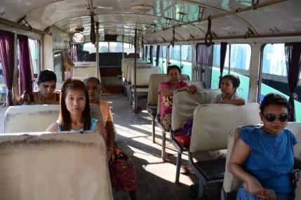 dans le bus mawlamyine hpa an