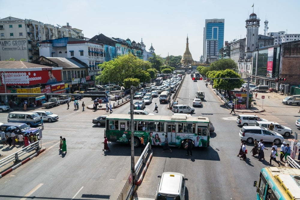 yangon birmanie