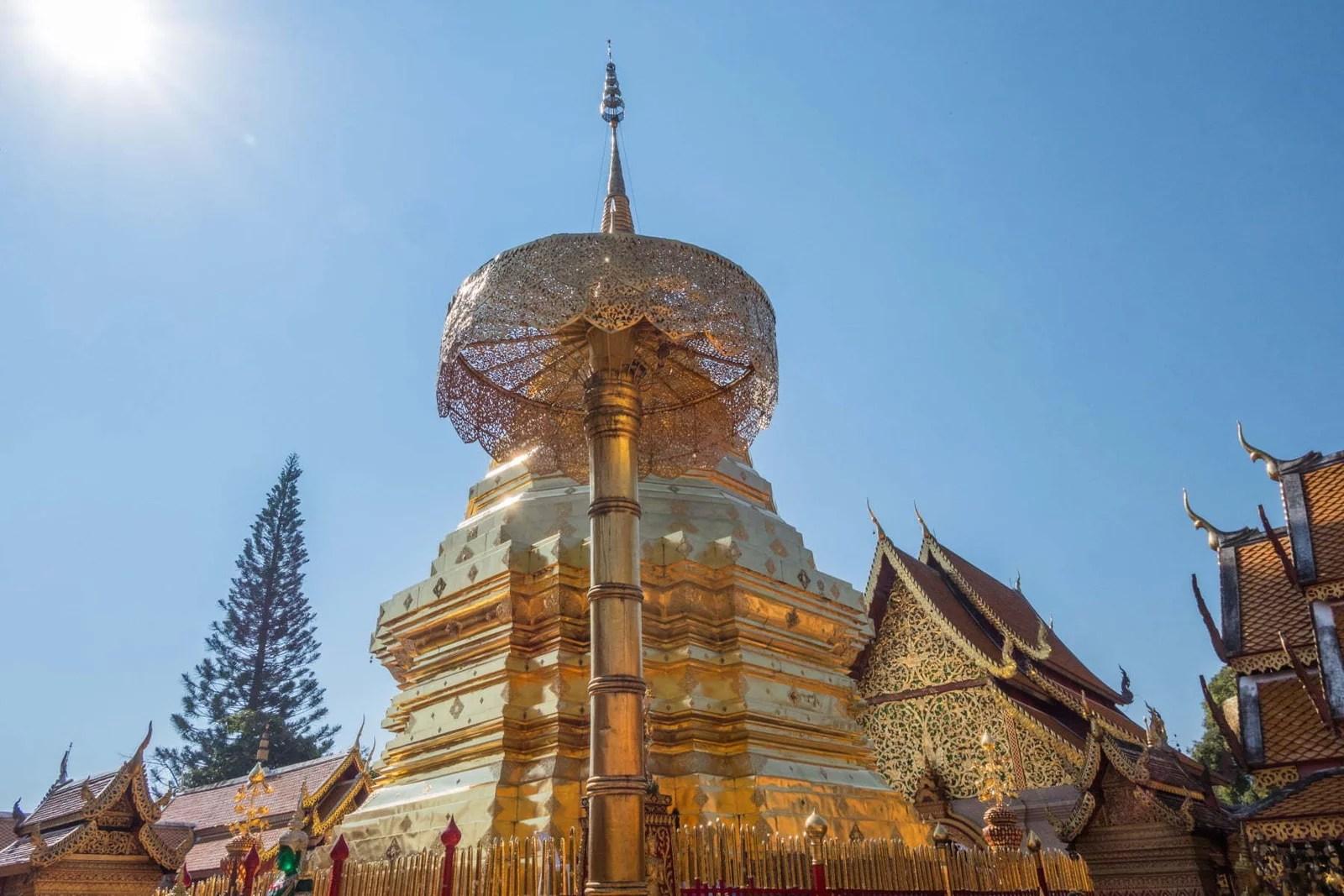 le doi suthep - chiang mai -thailande