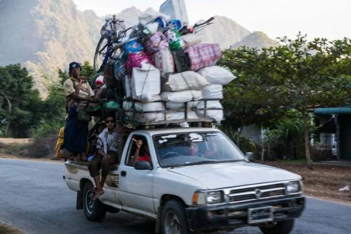 route hpa an birmanie