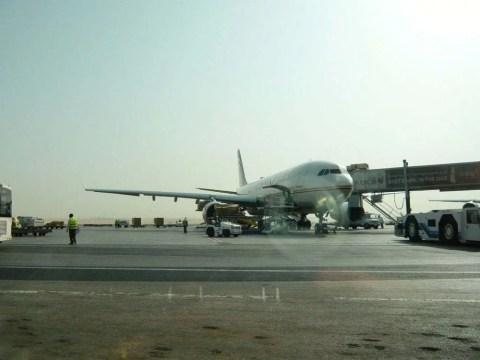 avion Etihad Abu Dhabi