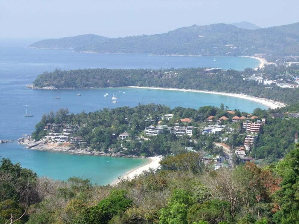 vue plages phuket thailande