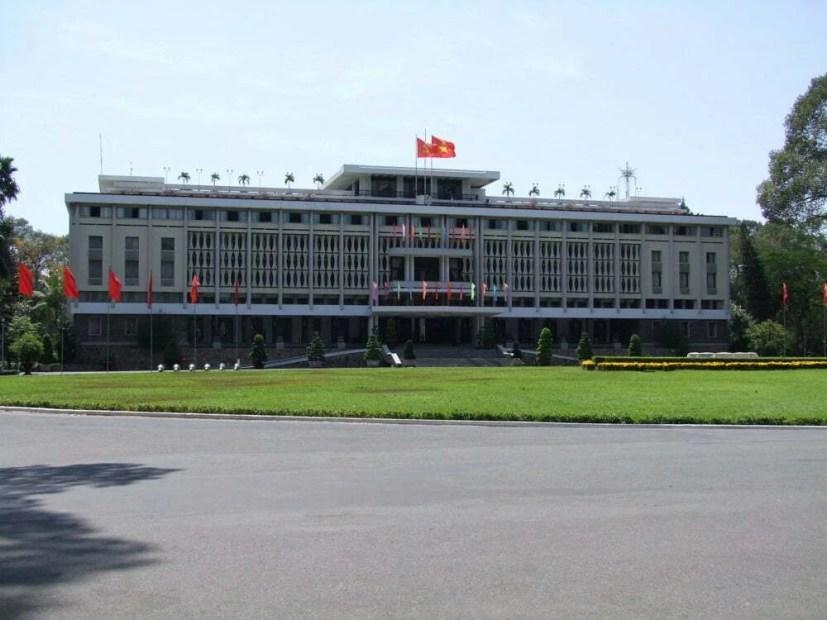 palais reunification ho chi minh ville vietnam
