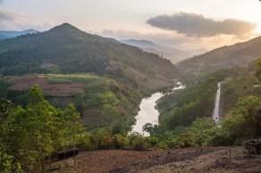 Paysage nord vietnam entre meo vac et bao lac