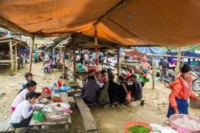 marché Lung Phin - Bac Ha Vietnam