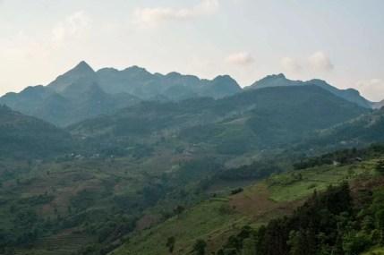 Trajet Lao Cai Bac Ha nord Vietnam