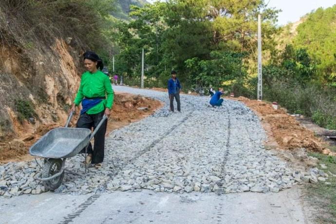 route moto nord Vietnam - Bac Ha - Vinh Quang
