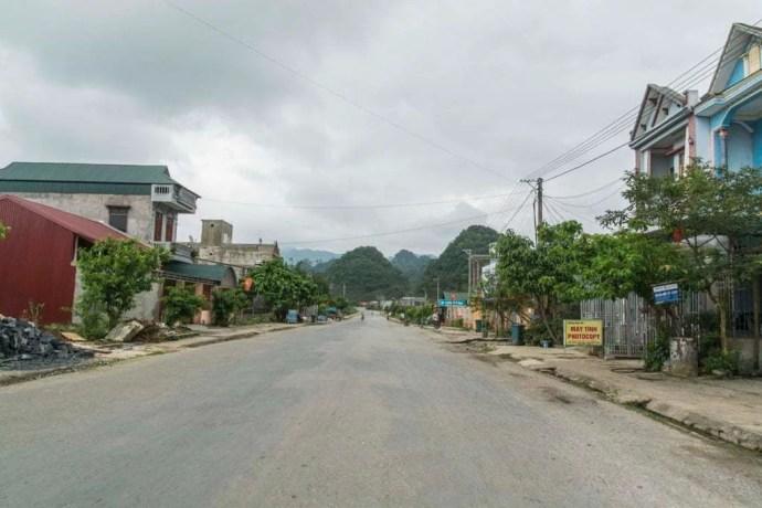 moto nord Vietnam - route entre Ha Giang et Dong Van