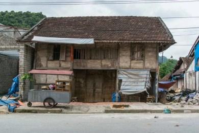 moto nord Vietnam - maison a Tam Son