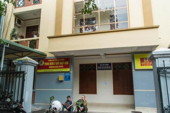 bureau immigration de Ha Giang