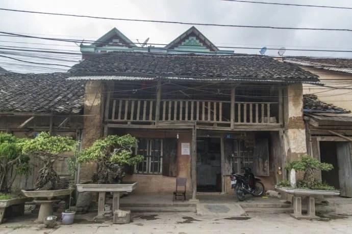 moto nord Vietnam - vieille maison Dong Van
