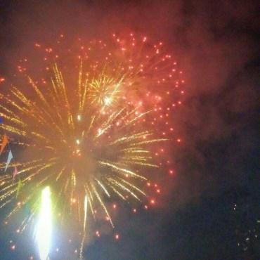 feux artifice bangkok