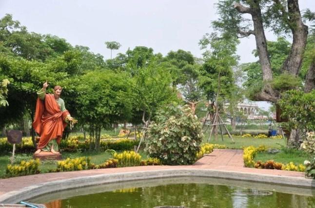 Jardin eglise portugaise - Ayutthaya