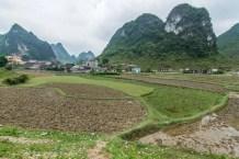 paysage province de Cao Bang