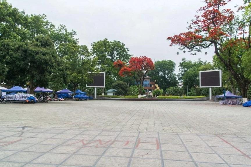 place de la ville cao bang Vietnam