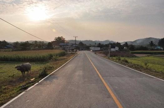 route thailandaise