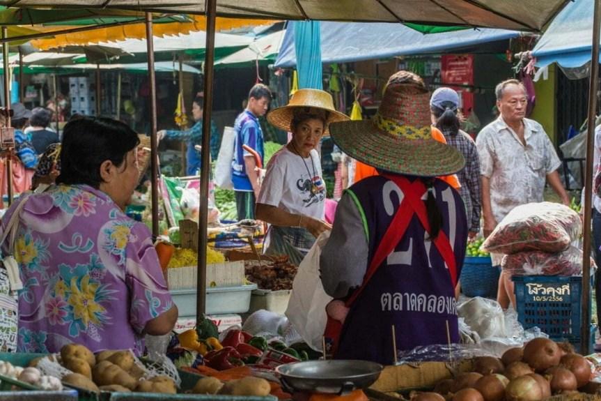 marché Klong Toey - Bangkok