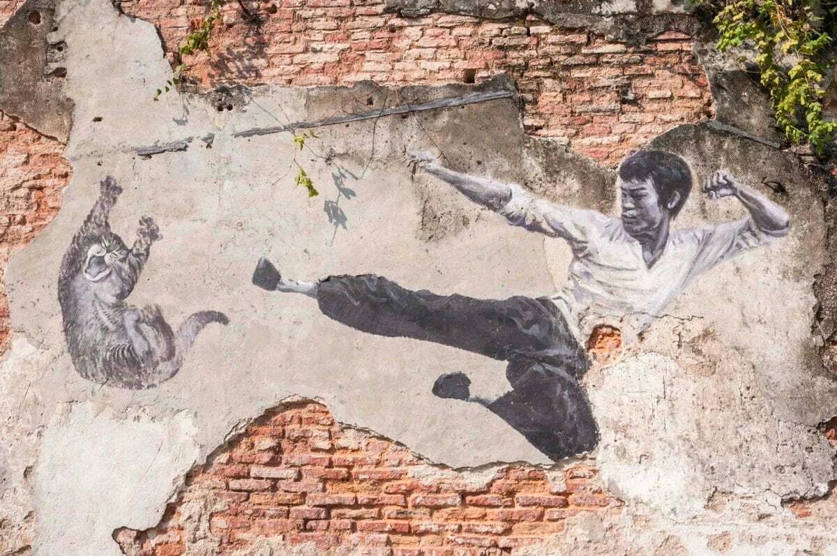 street art george town penang