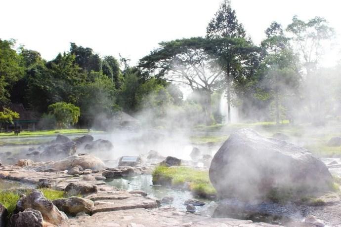 source eau chaude chae son national park lampang
