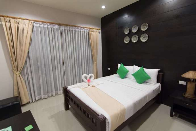 chambre the old stay by sister - sukhothai - thailande