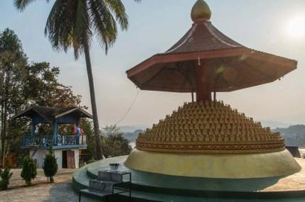 au temple de huay xai