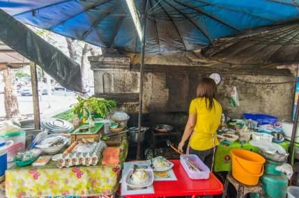 communauté - vieilles maisons bois bangkok - thailande