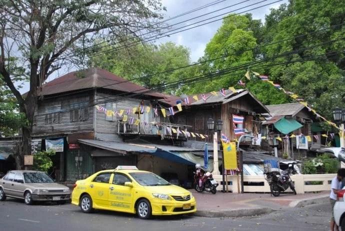 quartier vieilles maisons bangkok