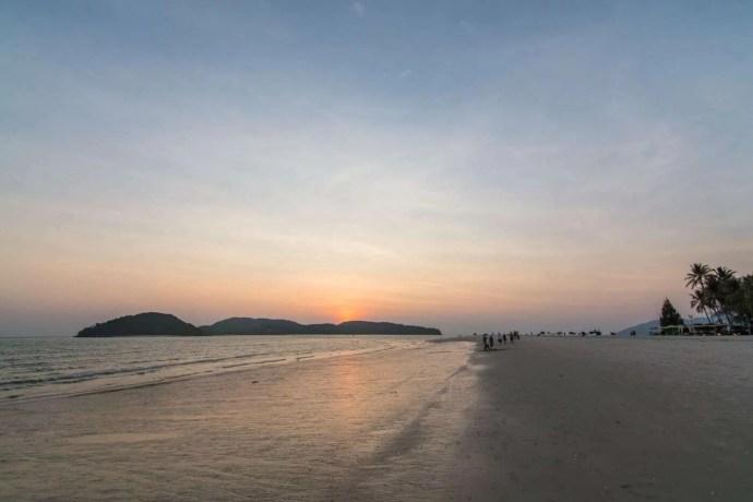 plage pantai tengah langkawi - malaisie