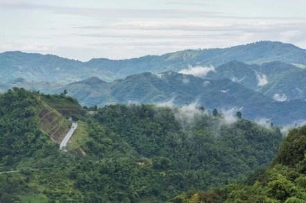paysage doi mae salong - thailande