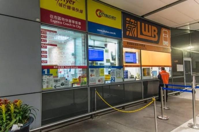 bus aéroport hong kong