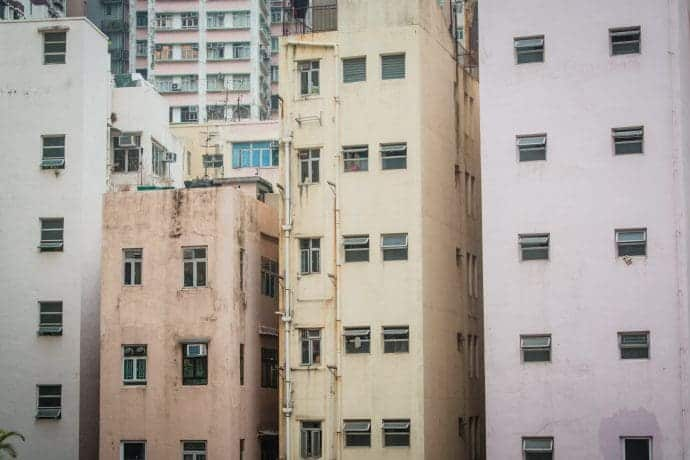 facades immeubles hong kong