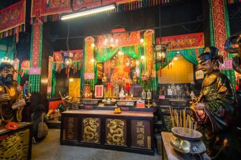 interieur tin hau temple - hong kong