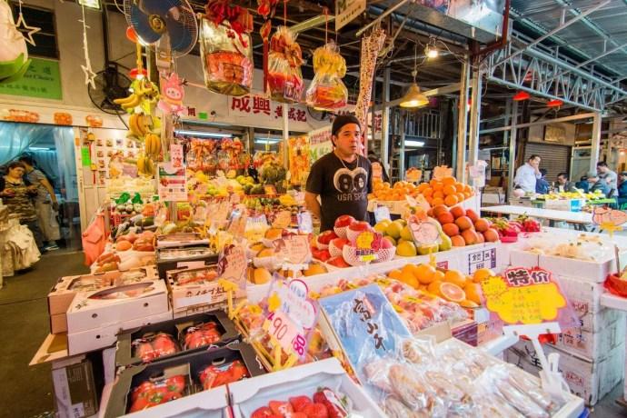marché fruit yau ma tei - hong kong