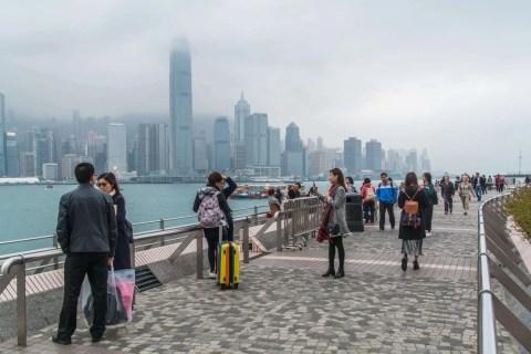 quais kowloon - hong kong