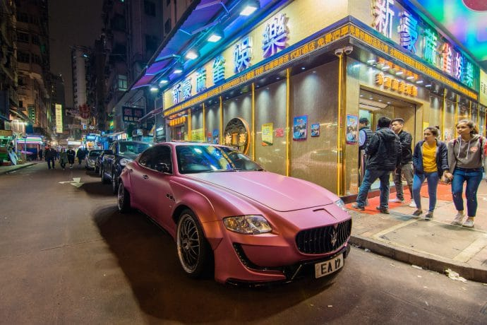 supercar - hong kong