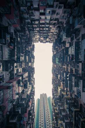 yick fat building - hong kong