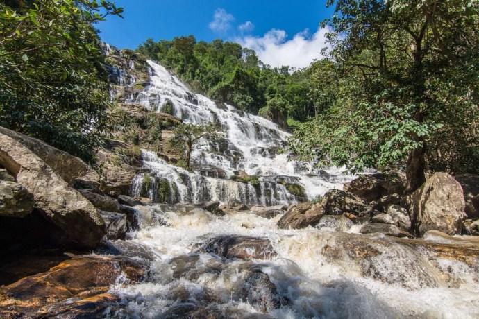 mae ya waterfall doi inthanon - chiang mai