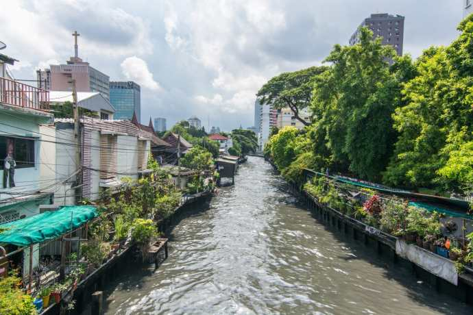 canal san saep bangkok