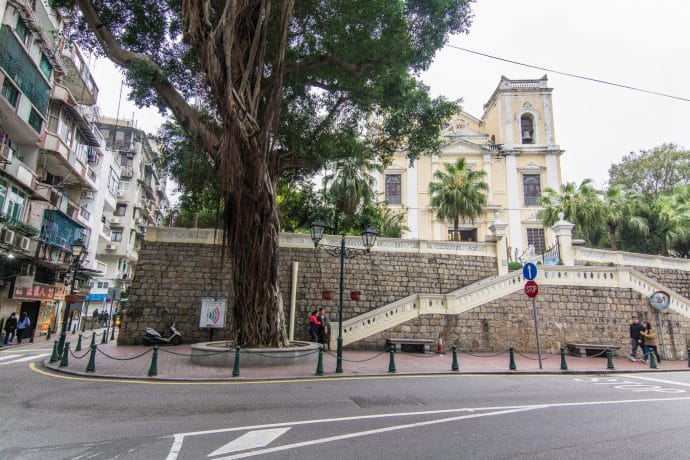 église st lawrence - macao