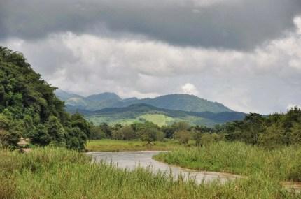 paysage triangle d-or - thailande - birmanie