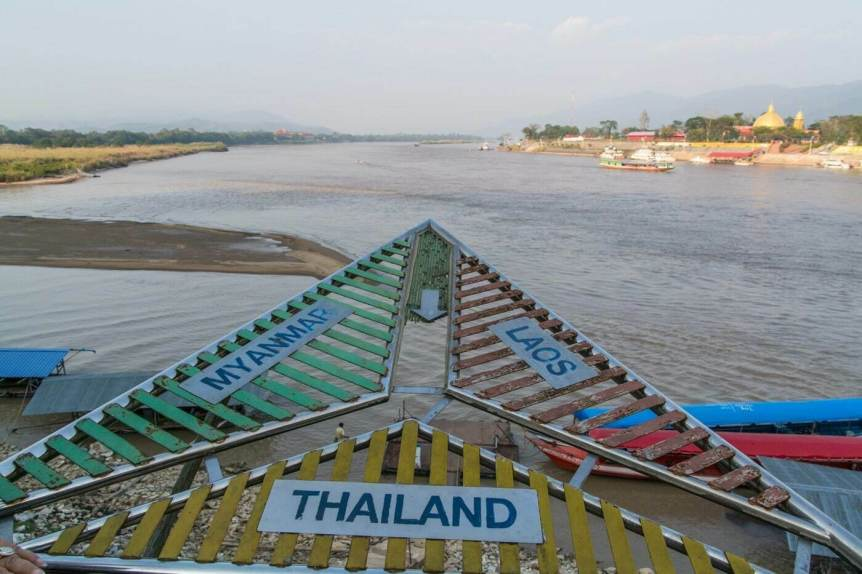 point rencontre triangle d-or - thailande