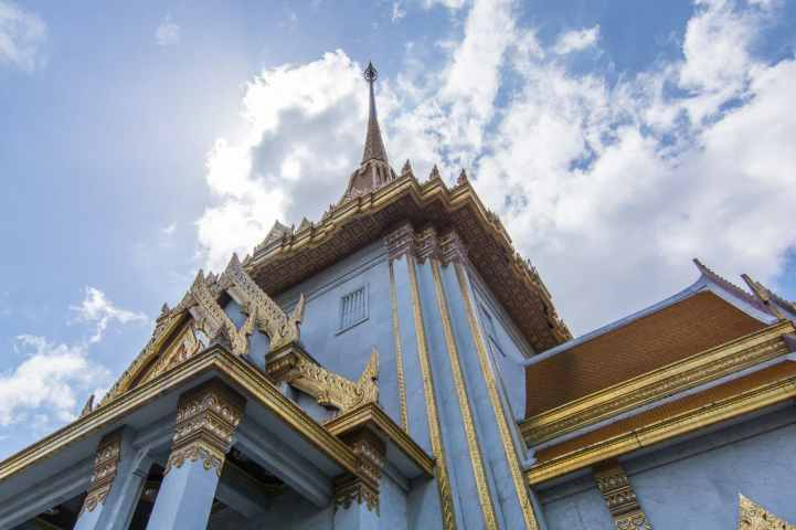 ciel nuageux bangkok en juin